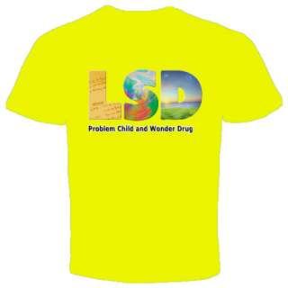 LSD T Shirt Dr Hoffman Acid Party Trance Drugs Techno Lysergic