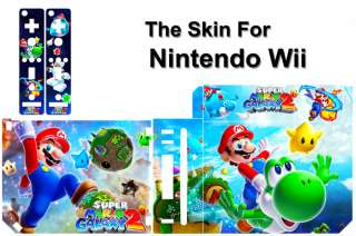 Super Mario Galaxy 2 SKIN DECAL COVER for NINTENDO Wii