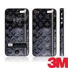 Gloss Black Designer 3M 180C Vinyl Skin Sticker Wrap Fo