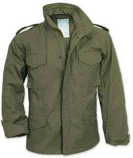 Olive Drab Military M 65 Field Jacket