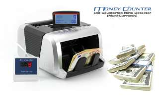 Currency Money Counter and Counterfeit Note Detector 01