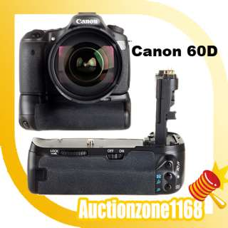 Multi Power Battery Pack Grip Holder For Canon EOS 60D
