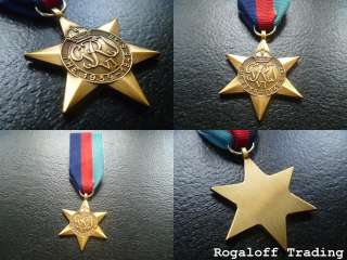 World War II   1939   1945 Star Medal