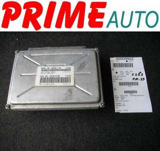 1999 99 Pontiac Grand Prix Engine Computer ECM ECU OEM