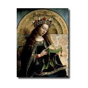 The Ghent Altarpiece The Virgin Mary 1432 Giclee Print
