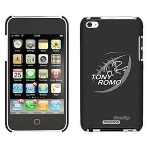 Tony Romo Football on iPod Touch 4 Gumdrop Air Shell Case: Electronics