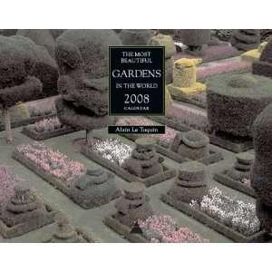 Gardens in the World 2008 Wall Calendar (9780810994294) n/a Books