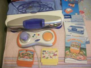 Vtech V. Smile Motion Active Learning System Console Art Studio and