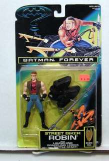 Kenner Batman Forever Action Figure Sreet Biker ROBIN