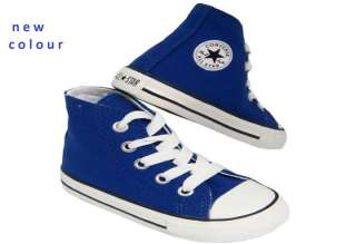 Little Girls Boys Childrens Converse All Star Trainers