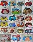 NEW MEN BOY BOXER SHORTS UNDERWEAR TRANS FORMERS, ANIMAL CRAZY, SPONGE