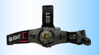 600 Lumens CREE XP G R5 LED Zoomable Zoom Headlamp Headlight Q8A+18650