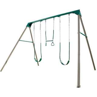 Home Summer Shop Swing Sets, Slides & Swings Swing Sets Plastic Swing