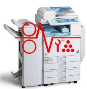 RICOH MPC2500 PHOTOCOPIER SERVICE MANUAL GUIDE CD.