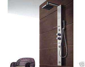 Asta per tenda doccia estensibile acciaio inox 75 125 - Asta tenda doccia ...