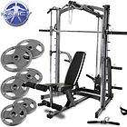 Marcy Diamond Elite MD9010G Smith Machine 140kg Olympic Weight Set