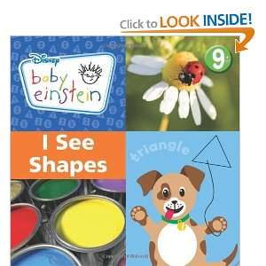 See Shapes (Disney Baby Einstein) [Hardcover]: Susan Ring: Books