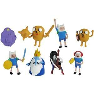 Adventure Time With Finn & Jake 2 Action Figure Set Of 4