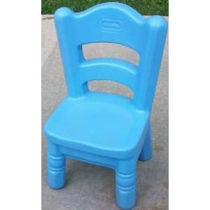 Little Tikes Victorian Chair Blue, Child Size: Toys