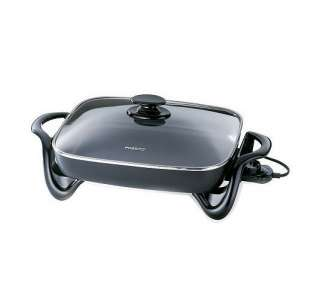 Presto 16 Electric Skillet with Glass Cover   QVC