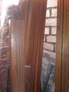Listelli in legno per compl. telai porte e finestre   color noce