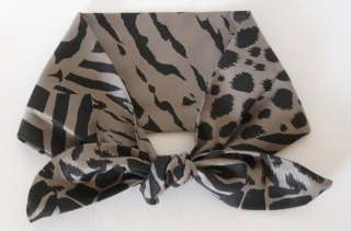 ANIMAL PRINT VINTAGE 50s STYLE ROCKABILLY HEAD SCARF