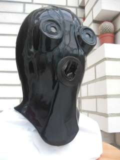 TOP studio heavy rubber latex mask rare gum
