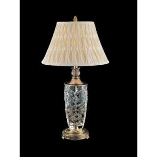 Dale Tiffany One Light Crystal Table Lamp in Antique Gold  Wayfair