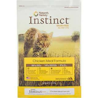 Natures Variety Instinct Grain Free Chicken Meal Formula Dry Cat Food
