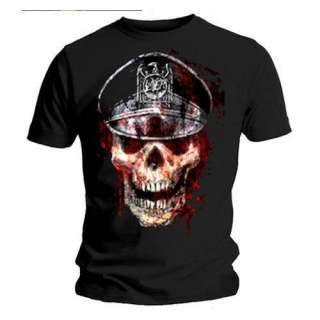 Slayer / Mens / Skull Hat (Black   T Shirt) *NEW*