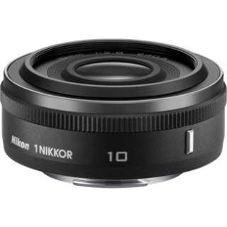 Nikon 1 NIKKOR 10mm f/2.8 Lens   Black   3306 in Camera Lenses and
