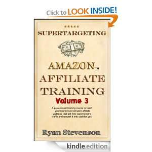 Affiliate Training): Ryan Stevenson:  Kindle Store