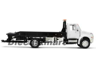 INTERNATIONAL DURASTAR 4400 FLATBED TOW TRUCK NEW DIECAST MODEL WHITE