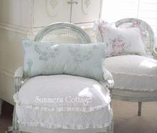 SHABBY FRENCH COTTAGE ROSES CHIC KING DUVET COVER SET