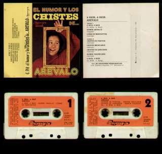 AREVALO   SPAIN CASSETTE 1980   EL HUMOR Y LOS CHISTES