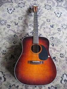 Sigma Martin DM 4S DM4S acoustic guitar sunburst