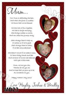for mummy s first mothers day poems and mothers day placemat prints