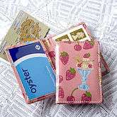 Oyster Card Wallet Ice Cream Pink   high flyer   travel accessories
