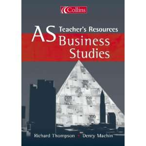 As Business Studies (9780007151219) Richard Thompson Books