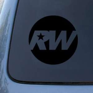 ROBBIE WILLIAMS   Vinyl Car Decal Sticker #1821  Vinyl Color Black