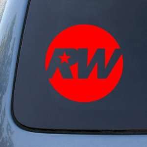 ROBBIE WILLIAMS   Vinyl Car Decal Sticker #1821  Vinyl Color Red