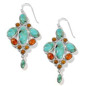 Studio Barse Turquoise Sterling Silver Marrakech Drop Earrings at