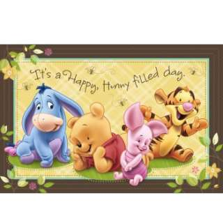 Baby Pooh and Friends Wall Mural Ratings & Reviews   BuyCostumes
