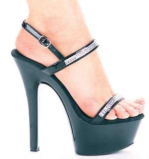 Black Diamond Rhinestone Sandals   Accessories & Makeup