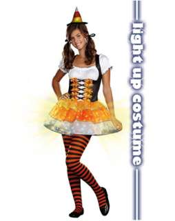 Teen Candy Corn Cutie Costume  Wholesale Witch Halloween Costume for