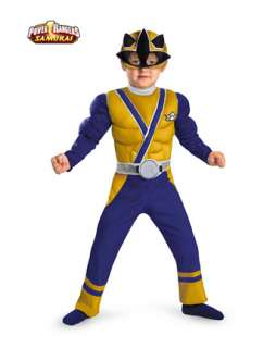 Muscle Gold Power Ranger Samurai Costume  Wholesale Power Rangers