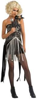 Lady Gaga Star Dress Costume for Adults  Lady Gaga Halloween Costume
