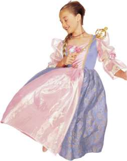 costumes in shopping cart m rapunzel barbie small