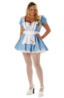 Sexy Alice Plus Size Costume for Halloween   Pure Costumes