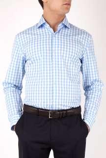 Hugo Boss Black  Blue Bold Gingham Shirt by Hugo Boss Black